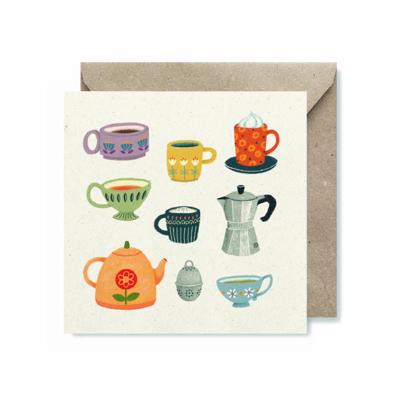 Dubbele kaart | Hot drinks