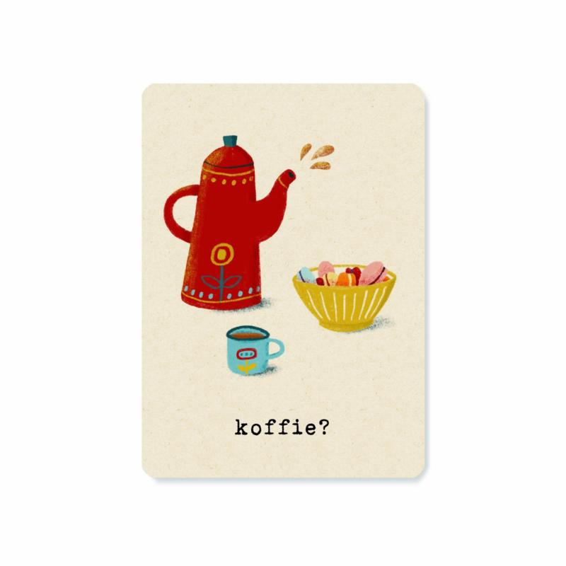 Postcard   Koffie?