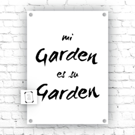 mi Garden es su Garden