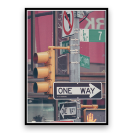 New York - One way