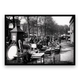 Groningen centrum - Zuiderdiep Rommelmarkt