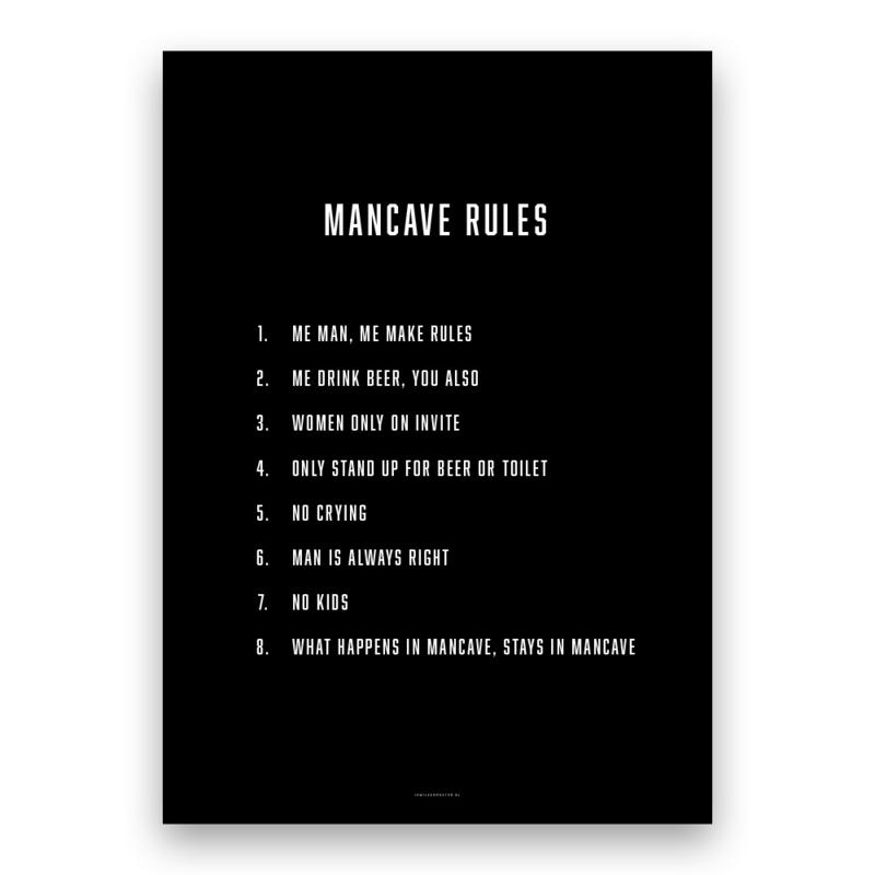 Mancave Rules