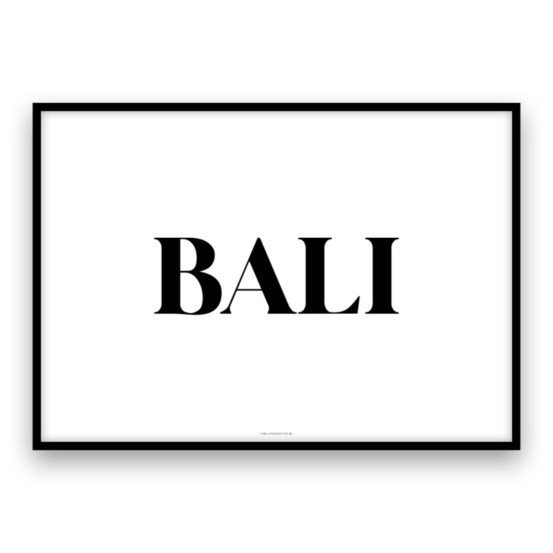 Bali TEXT