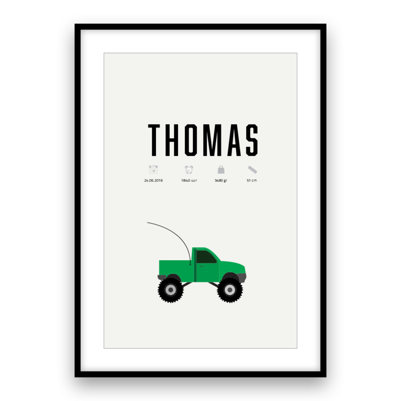 Kraamposter | Monster Truck