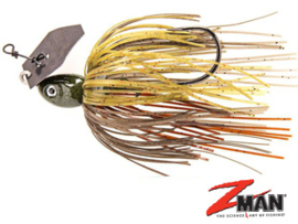 Z Man Project Z Chatterbait 1/2 oz (plm14 gr) Green Pumpkin Craw ***NIEUW***