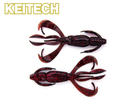 "Keitech Crazy Flapper 3,6"" Black Cherry"