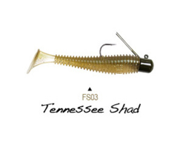 "Lunkerhunt Finesse Swimbait 3"" Tennessee Shad"