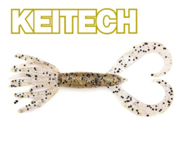 "Keitech Little Spider 3"" Silver shad"