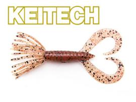 """Keitech Little Spider 3"""" Cinnamon PP Red"""