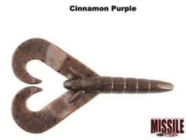 """Missile Baits Twin Turbo 3,25"""" Cinnamon Purple"""