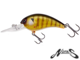 Nories Worming Crank Shot FULL SIZE Pearl Real Blue Gill