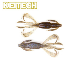 "Keitech Crazy Flapper 3,6"" Electric Smoke Craw"