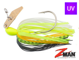 Z Man Chatterbait The Original 3/8 oz (plm 10,5 gr) Chartreuse Sexy Shad