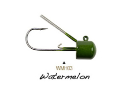 Lunkerhunt Weedless Mushroom Ned Head 1/4 oz Watermelon