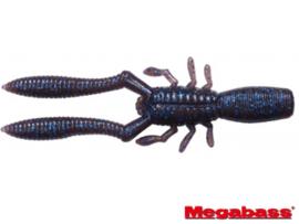 """Megabass Bottle Shrimp 3"""" Cinnamon Blue Flake"""