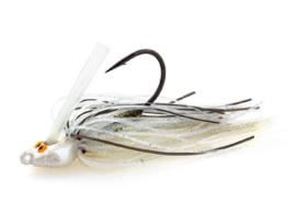Z Man Crosseye Snakehead Swim Jig  1/4oz (7 gr) Shad Spawn