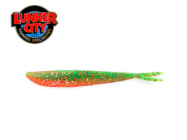 "Lunker City Fin S Fish 4"" Atomic Parrot ***NIEUW***"