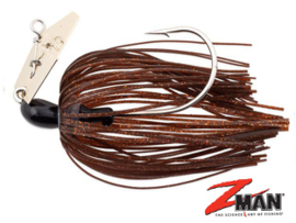 Z Man Chatterbait The Original 1/4 oz (plm 7 gr) Brown / Black