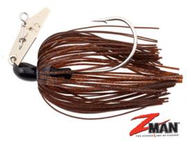 Z Man Chatterbait The Original 1/4 oz (plm 7 gr) Brown / Black