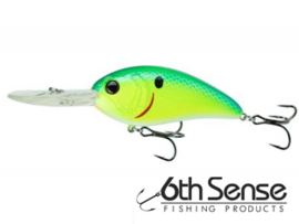 6th Sense Fishing Crush 300DD Blue Treuse Shad
