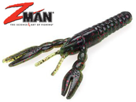 "Z Man Punch CrawZ 4"" Sprayed Grass"