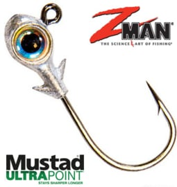 Z Man Trout Eye Finesse Jighead 3/16oz (5,3gr) Pearl