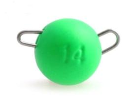 Tungsten Cheburashka Weights 5 gram Lime Chartreuse