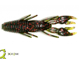 "X Zone Lures Punisher Punch Craw 4"" Watermelon Red Flake"