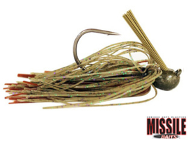 Missile Baits Flip Out Jig 1/2oz (plm 14 gr) Candy Grass