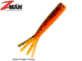 "Z Man TRD TicklerZ 2,75"" Green Pumpkin Orange"