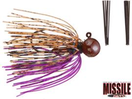 Missile Baits Ike's Micro Football Jig 3/8oz (plm 10,6 gr) PB&J
