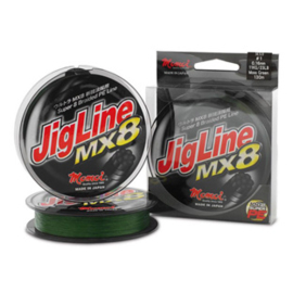 Momoi Jigline MX8 0,14mm Moss Green 100 meter