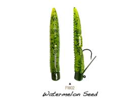 "Lunkerhunt Finesse Worm 3"" Watermelon Seed"