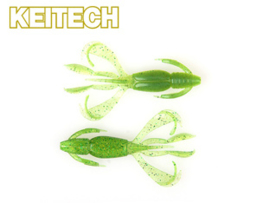 "Keitech Cray Flapper 3,6"" Lime Chartreuse ***NIEUW***"
