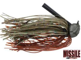 Missile Baits Ike's Headbanger Jig 1/2 oz (plm 14 gr) Candy Grass
