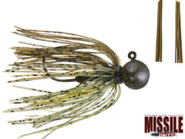 Missile Baits Ike's Micro Football Jig 3/8oz (plm 10,6 gr) Dill Pickle