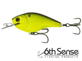 6th Sense Fishing Axis 2.0 Chartreuse Black Back