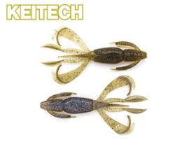 "Keitech Crazy Flapper 3,6"" Electric Green Craw"