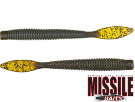 "Missile Baits Quiver 6,5"" Green Pumpkin Flash"