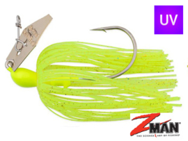 Z Man Chatterbait The Original 3/8 oz (plm 10,5 gr) Chartreuse