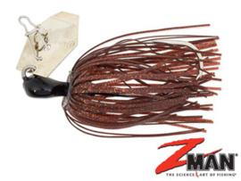Z Man Mini Chatterbait 1/4oz (plm 7 gram) Brown Black