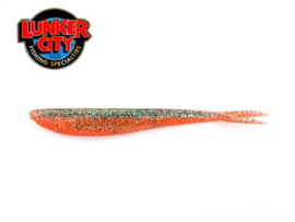 "Lunker City Fin S Fish 5,75"" Metallic Carrot"