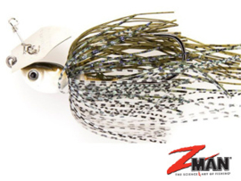 Z Man Project Z Chatterbait 1/2 oz (plm14 gr) Green Pumpkin Shad ***NIEUW***