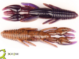 "X Zone Lures Punisher Punch Craw 4"" PB&J"