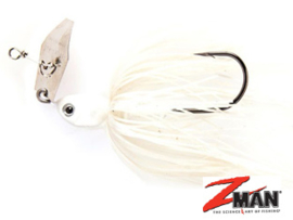 Z Man Project Z Chatterbait 3/4 oz (plm21 gr) Pearl White ***NIEUW***