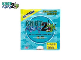 Knot 2 Kinky Nickel Titanium Leader Wire 18 Lb (8,16 kg)