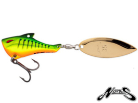 Nories In The Bait Bass Tailspinner 18 gr Mat Hot Tiger