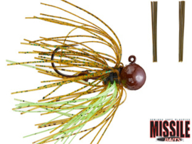 Missile Baits Ike's Micro Football Jig 3/8oz (plm 10,6 gr) Sunfish IPA
