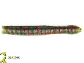"X Zone Lures Ned Zone 3"" Watermelon Red Flake"