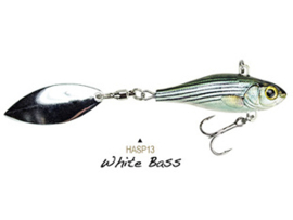 Lunkerhunt Hatch Spin 1oz (plm 25 gr) White Bass